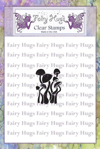 Fairy Hugs Stamps - Mini Dancing Mushrooms