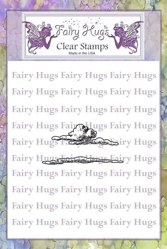 Fairy Hugs Stamps - Clouds