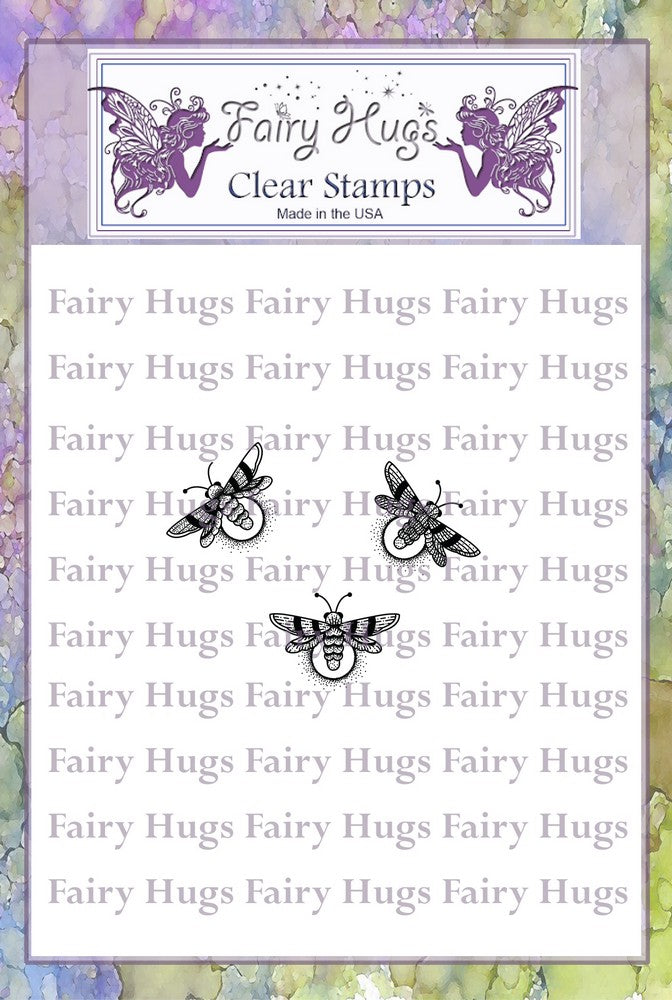 Fairy Hugs Stamps - Fireflies