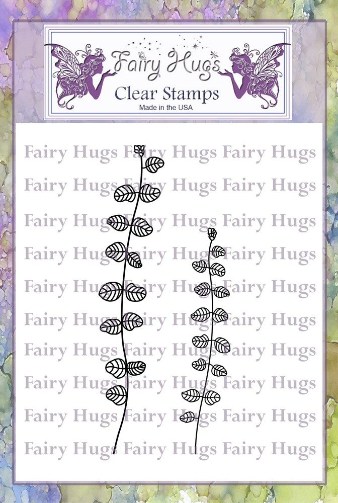 Fairy Hugs Stamps - Leafy Stalks