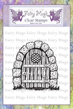 Load image into Gallery viewer, Fairy Hugs Stamps - Gnome Door