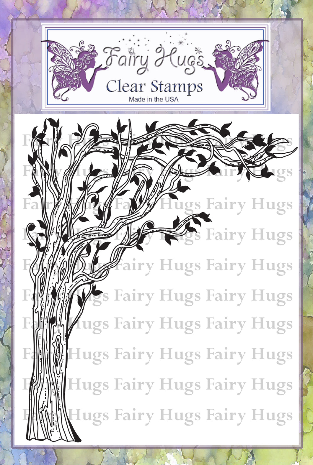 Fairy Hugs Stamps - Lantern Tree