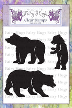 Load image into Gallery viewer, Fairy Hugs Stamps - Beary Family