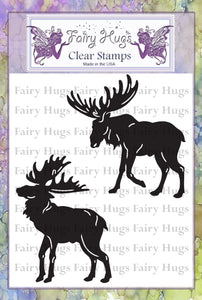 Fairy Hugs Stamps - Moose Set