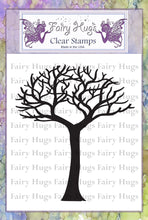 Load image into Gallery viewer, Fairy Hugs Stamps - Skinny Bare Tree (Short)