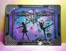 Load image into Gallery viewer, Fairy Hugs Stamps - Fairy Gate
