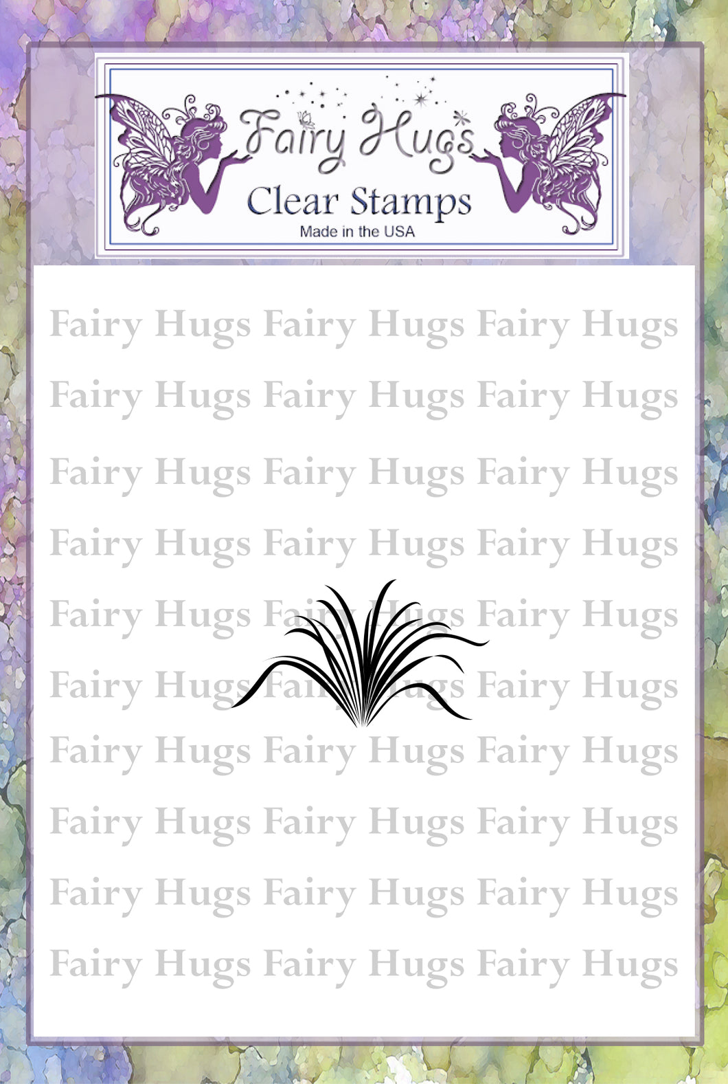 Fairy Hugs Stamps - Grass