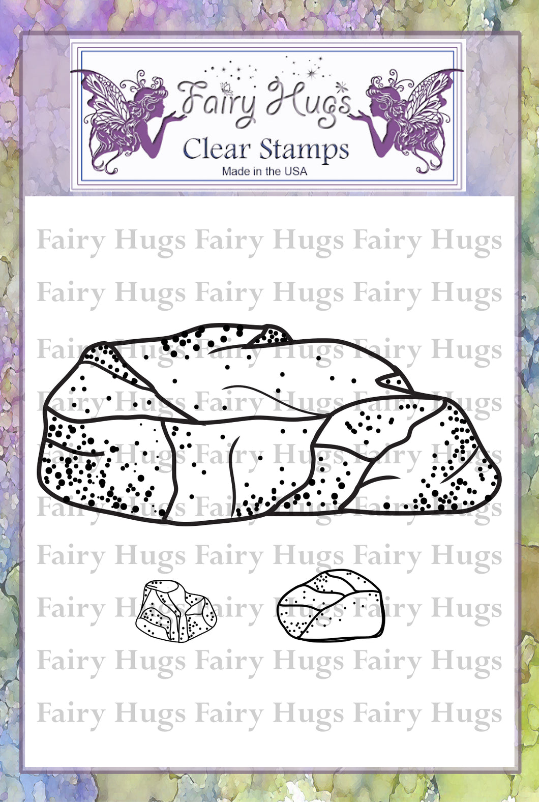 Fairy Hugs Stamps - Rock Set