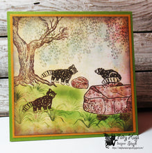 Load image into Gallery viewer, Fairy Hugs Stamps - Raccoon Set