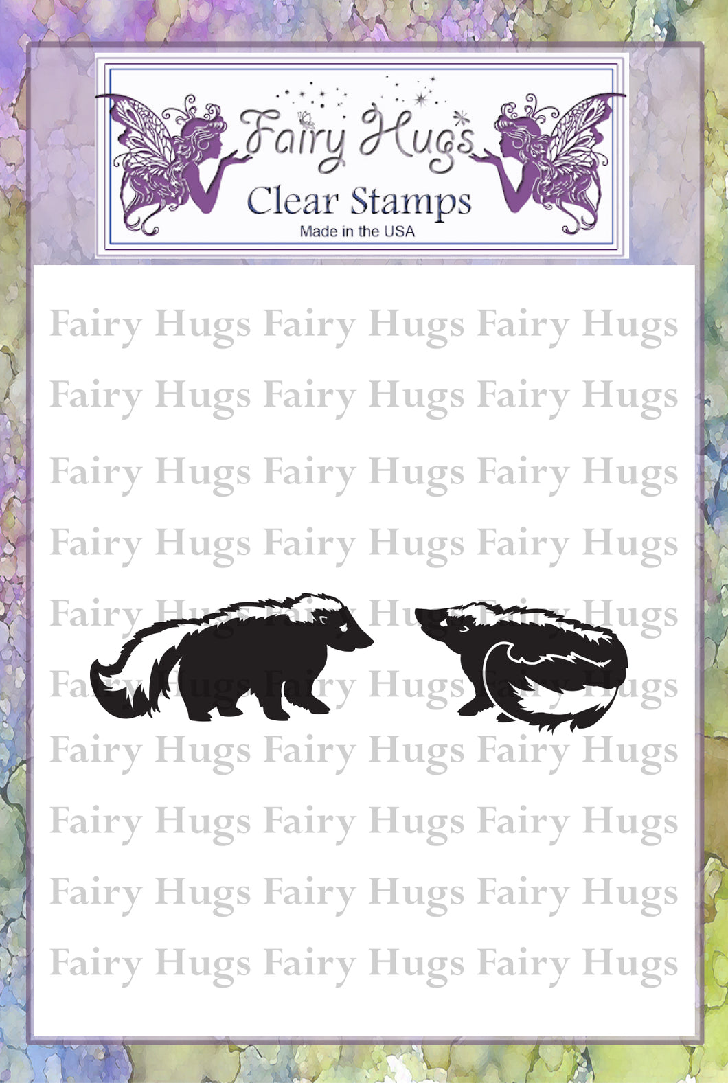 Fairy Hugs Stamps - Skunk Set