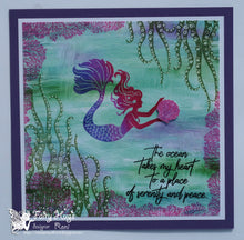 "Load image into Gallery viewer, Fairy Hugs - Fairy-Scapes - 6"" x 6"" - Seaweed Puddles"