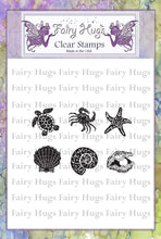 Load image into Gallery viewer, Fairy Hugs Stamps - Teeny Ocean Set