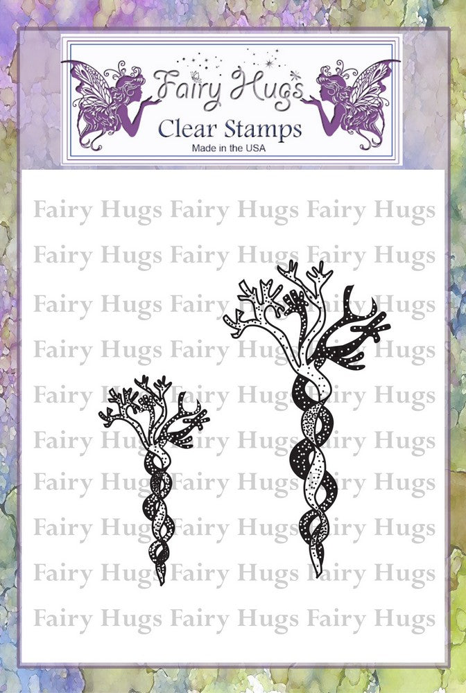 Fairy Hugs Stamps - Twisted Seaweed