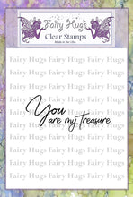 Load image into Gallery viewer, Fairy Hugs Stamps - Treasure
