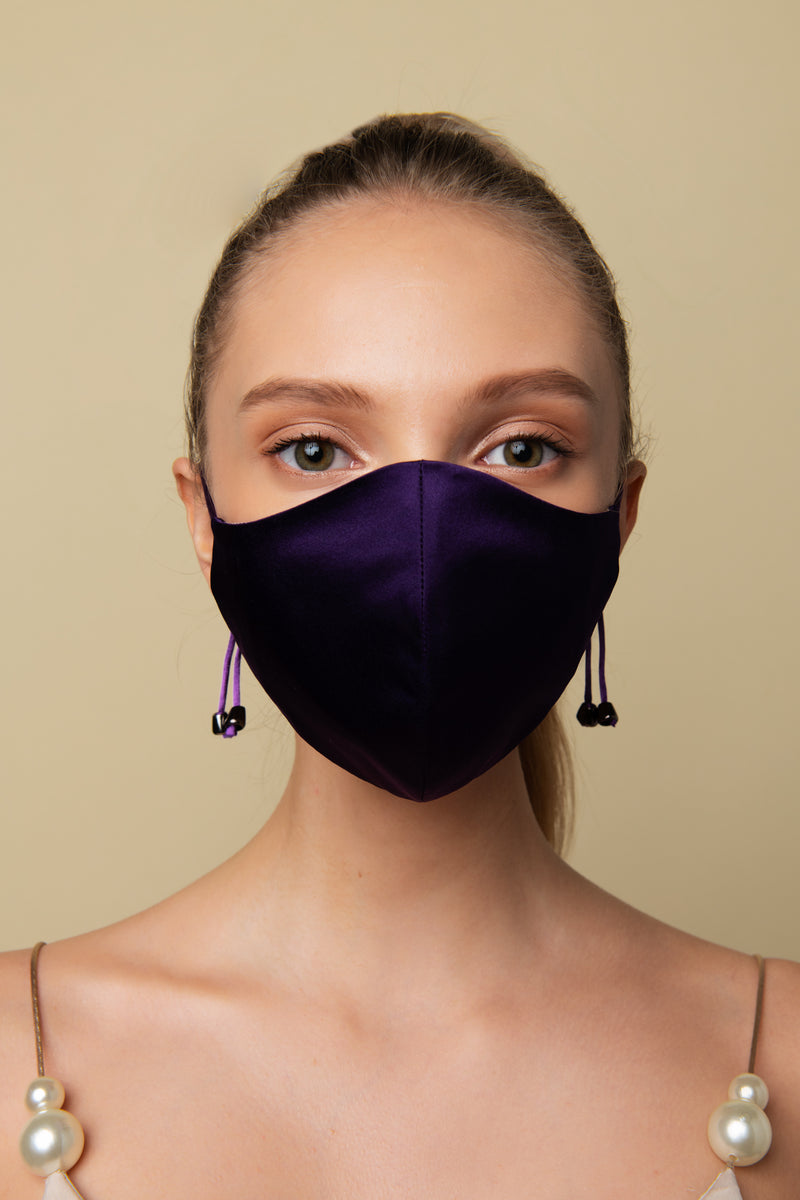 Royal Purple Face Mask - AeriaNYC