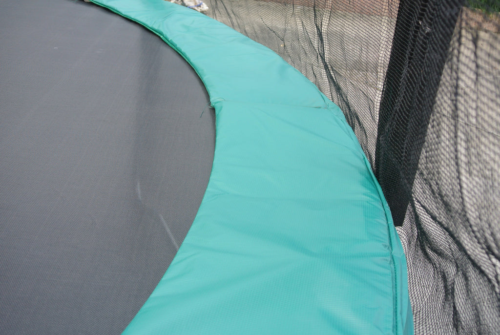 Superjumper 14ft Trampoline Combo With Green Pad Super
