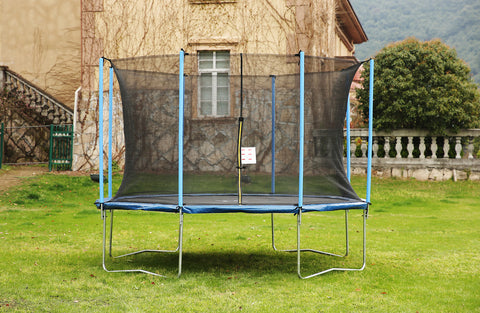 Airbound 12'ft Round Trampoline with Safety Enclosure