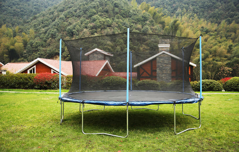 Airbound 16'ft Round Trampoline with Safety Enclosure