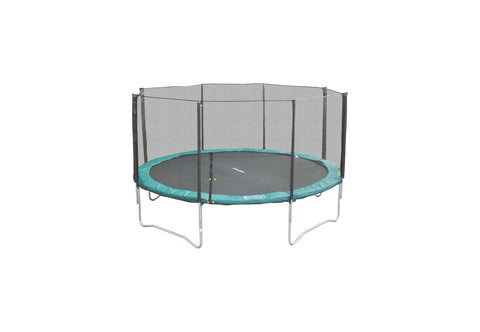 SuperJumper 14ft Trampoline Combo With Green Pad