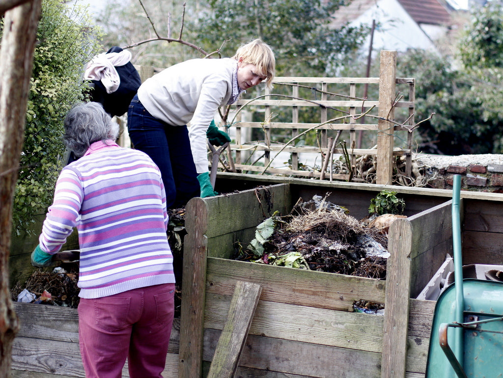 Composting. What You Sow at The Garden House