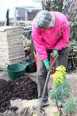 Digging in at the Garden House Brighton by What You Sow.