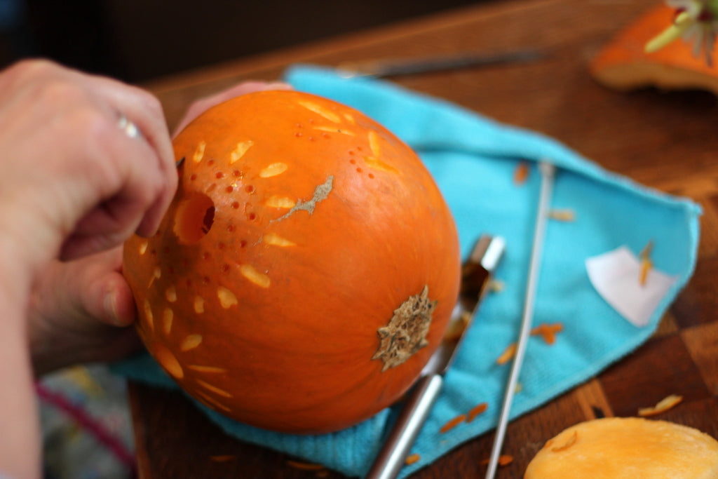 Pumpkin Carving at The Garden House