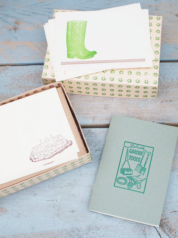Allotment Fancier's Stationery set