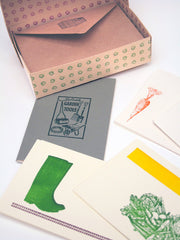 Allotment Fancier's Stationery set at What You Sow