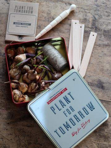 Vintage Style Allotment Gift Set
