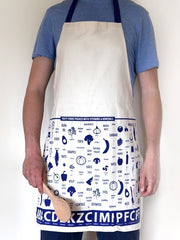 Vitamins and Minerals Apron at What You Sow