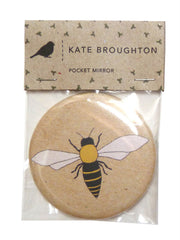 Kate Broughton Honey Bee Mirror from What You Sow