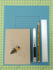 Kate Broughton Honey bee notebook at What You Sow