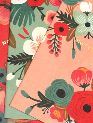 Botanicals Notebook Collection by Rifle Paper Co. (Set of 3)
