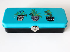 Enamel storage tin by Brie Harrison at What You Sow