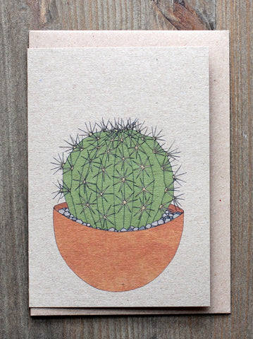 Cacti cards (set of 4)