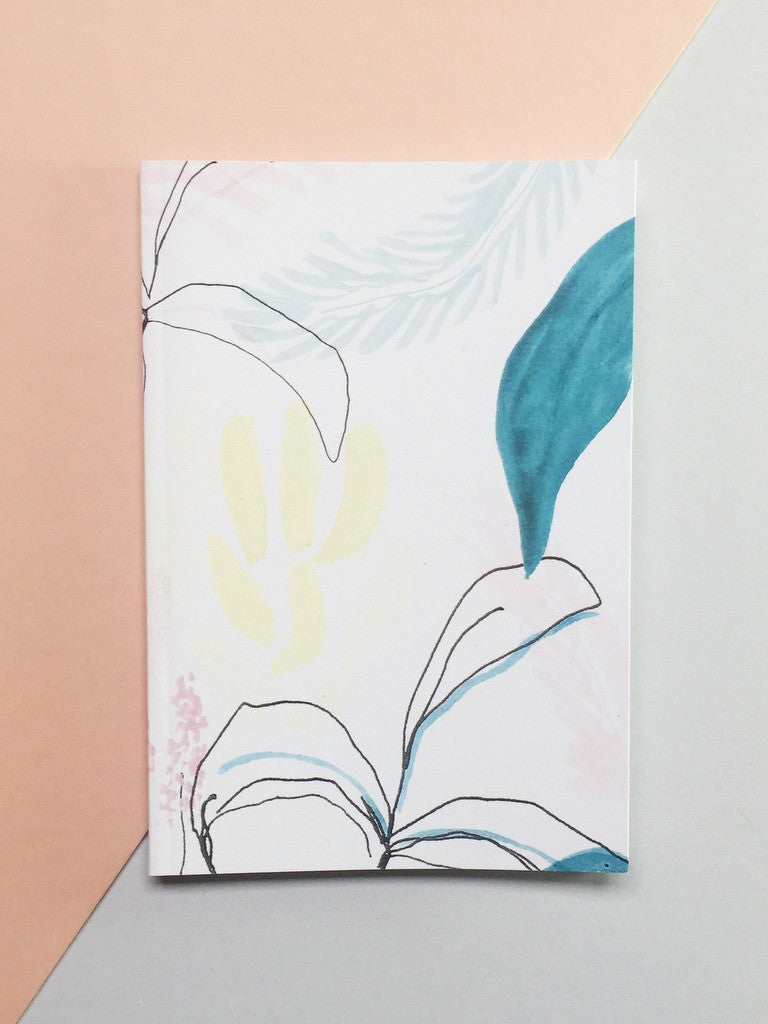 Jungle Patterned Pocket A6 Notebook | Chloe Hall at What You Sow