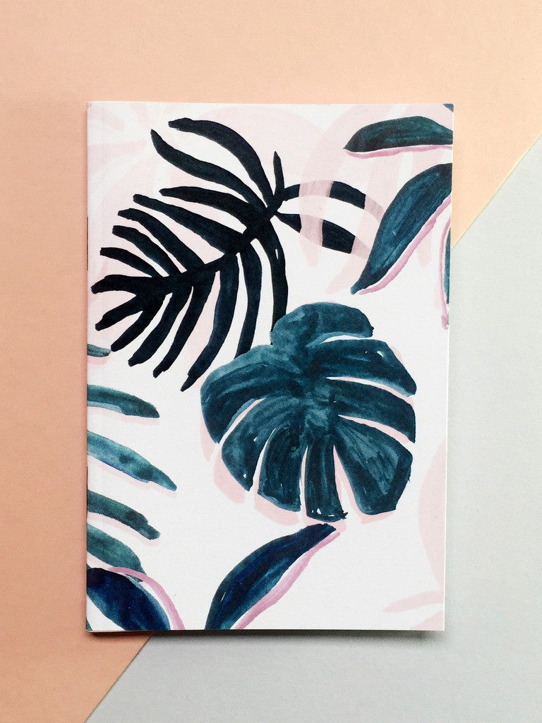 Tropical Patterned Pocket A6 Notebook | Chloe Hall at What You Sow