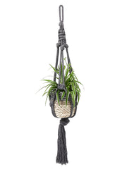 Chunky cotton macramé plant hanger by Cocoon and me | What You Sow