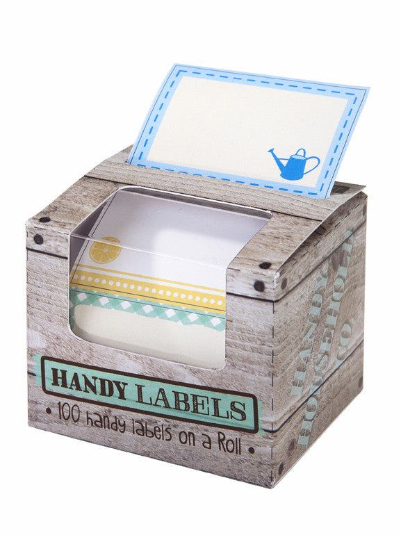 Cottage Garden Labels & dispenser