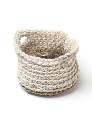 Handmade Jute crochet garden Trug by Cocoon & me | What You Sow