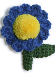 Homegrown Crochet Flower Brooch Dahlia from What You Sow