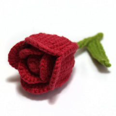 Homegrown Crochet Flower Brooch Tulip from What You Sow