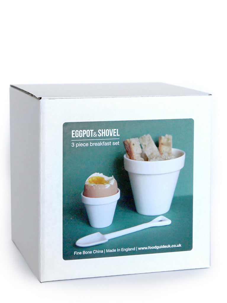 Eggpot + Shovel + Toast 3 piece set. Lahla Studio at What You Sow