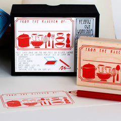 From the kitchen of...Stamp activity Set by Yellow Owl Workshop at What You Sow