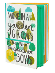Pretty Garden Journal by The Thoughtful Gardener at What You Sow