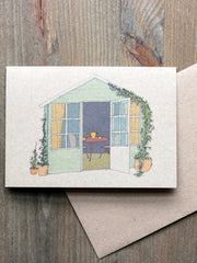 Garden greetings card