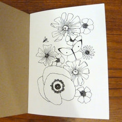 Garden Colouring Book