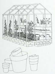 Garden Colouring Book at What You Sow