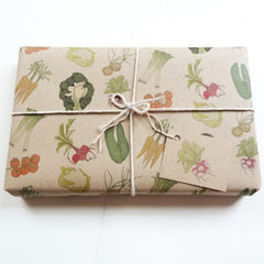 vegetable gift wrap