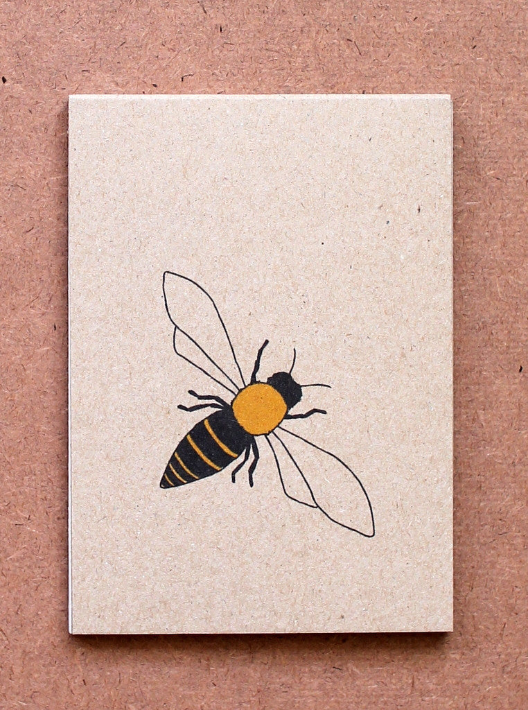 Kate Broughton Honeybee notebook at What You Sow